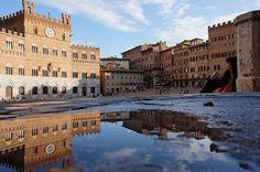 Piazza del Campo after the rain