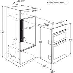 Standard Oven Dimensions Google Search Architecture