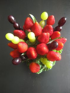 647-271-7971 Edible Flowers, Bouquets, Strawberry, Fruit, Food, Bouquet, Bouquet Of Flowers, Essen, Strawberry Fruit