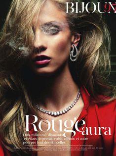 Anna Selezneva | Claudia Knoepfel & Stefan Indlekofer | Vogue Paris Aug2011