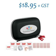 $18.95 April Special - First Aid Kit with Logo First Aid Kit, Logos, Survival First Aid Kit, Diy First Aid Kit, Logo