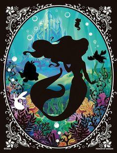 Disney's The Little Mermaid:) Arte Disney, Disney Magic, Disney Art, Disney Pixar, Disney Characters, Ariel Mermaid, Ariel The Little Mermaid, Disney Little Mermaids, Disney Love