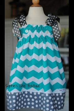 Love this pillow case dress pattern!!