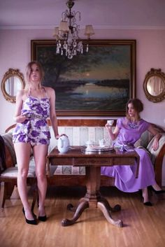 Styled by Johanna Henfors, model Malin F, photo by Ida F. Prom Dresses, Summer Dresses, Formal Dresses, Candy Sweet, Foto Shoot, Twins, Lavender, Girly, Pretty