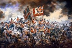 1854.09.20 The 33rd (Duke of Wellingtons) Regiment storming the Great Redoubt at the Battle of Alma