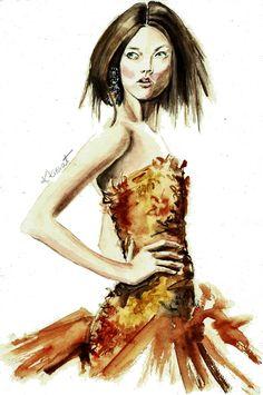 Karlie Kloss by  karolina kierat