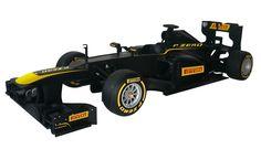 Pirelli Tires Australia Black Full Size Formula One Show Car