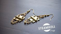Hinge Earrings Hardware Jewelry!  Jewelry made from stuff you may find at your local Hardware Store!  Who says Hardware is boring!?!?