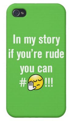 #LiveUrStory #Iphone #Fashion #Style http://www.zazzle.com/if_you_are_rude_ipod_touch_case-179450925525737956