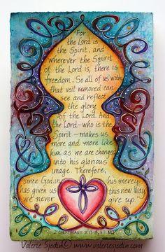 visual blessings: Art Journaling Deeper into Faith