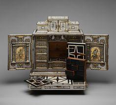 Cabinetry by the workshop of Melchior Baumgartner | Cabinet | German, Augsburg | The Met