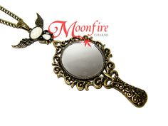 ONCE UPON A TIME Magic Mirror Pendant Necklace