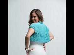 REBECA - Tejida a gancho fácil y rápido - Tejiendo con LAURA CEPEDA - YouTube Crochet Woman, Crochet Top, Yarn Needle, Crochet Clothes, Shawl, Crop Tops, Knitting, Youtube, Sweaters