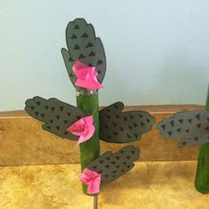 Cactus made out of children's hand cut outs :) Desert Biome, Kids Hands, Biomes, Cut Outs, Making Out, Cactus, Children, Plants, Young Children