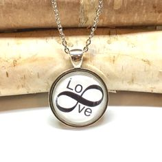 A personal favorite from my Etsy shop https://www.etsy.com/listing/487193976/infinity-pendant-necklace-infinity