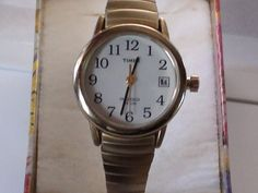 Timex Indiglo Vintage Wristwatch Stretchable by VINTAGEARTJEWELRY
