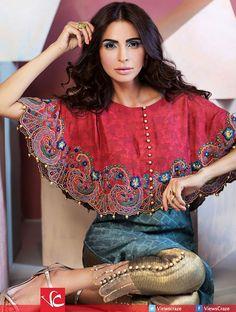 Umsha by Uzma Babar Luxury Pret Fall Collection 2015