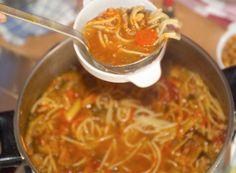 Es muss nicht immer Stosuppe sein. Versucht es beispielsweise mit einer Italienischen Minestrone. Chili, Soup, Lenten Season, Food Food, Chile, Soups, Chilis