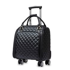 Travel Bags Dolphin Rainbow Portable Tote Trolley Handle Luggage Bag