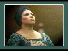 """Leontyne Price """"Liebestod"""" from Tristan und Isolde. She rhapsodizes about her doomed love.  Pass the tissues."""