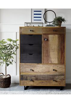 Atwood Tall Chest | Crate and Barrel
