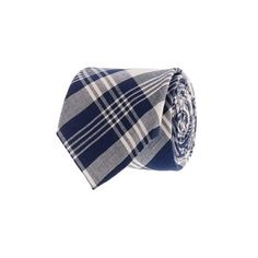 Indian Cotton Tie. Fleet Plaid. J-Crew.