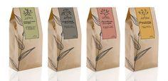 Brown kraft paper tea bag - isabella home Kraft Packaging, Packaging Stickers, Food Packaging Design, Beverage Packaging, Coffee Packaging, Coffee Branding, Packaging Design Inspiration, Bottle Packaging, Tea Design