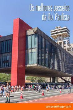 Dicas de passeios, atrações e pontos turísticos na Avenida Paulista para incluir no roteiro! Foto: MASP e ciclovia