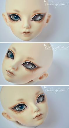 Face-Up Commission - Luts Maska (for Shiroi) by prettyinplastic on DeviantArt