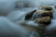 'stones in waterfalls' by icefish