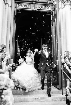 Creative Wedding Exit Photos : Brides.com