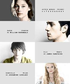 TID fan cast--- Tessa, Will, Jem, Jessamine