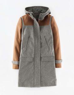 colorblock hampton coat