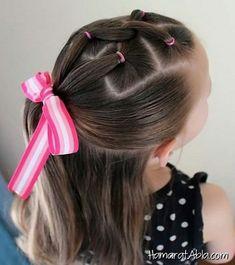 Kız Çocukları için 10 Farklı Saç Modeli Fikri