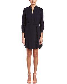 Hutch 3/4-Sleeve Shirt Dress
