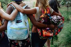 JanSport x FARM backpack collaboration. From butterflies to beachy scenes, our latest collab with Brazilian brand, FARM, captures the colors of Rio. #JanSportxFARM