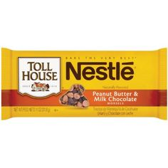 Nestle Toll House Peanut Butter and Milk Chocolate Morsel Mix