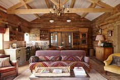 Merveilleux Cabin Studio   Rustic Interior Design Ideas   Cosy Living Rooms, Bedrooms  And Bathrooms Inspired