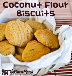 Coconut Flour Biscuit Recipe