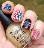 Nail Polish Wars: Happy Fourth of July!!