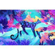 Dazzling Neon Artworks by Juliette Oberndorfer