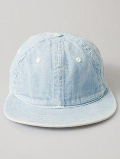 b166ba2daf0c2f Unisex Denim Basic Cap  AmericanApparel  PinATripWithAA Denim Hat