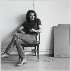 Brice Marden, by Robert Mapplethorpe, 1976