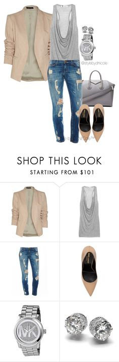 """""""Untitled #3084"""" by stylebydnicole ❤ liked on Polyvore featuring Theory, Givenchy, T By Alexander Wang, Yves Saint Laurent, Michael Kors, women's clothing, women's fashion, women, female and woman"""