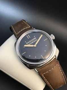 950a71c1f92 Panerai Radiomir SLC PAM00425 PAM425 Manual Wind 3 Days 47mm Wristwatch