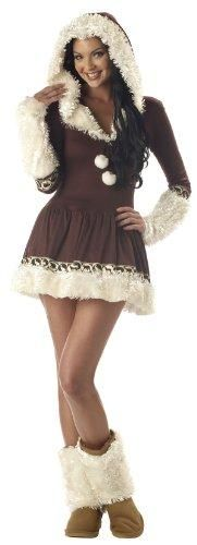 3!!Sexy Eskimo Costume Ladies Size Medium EUC