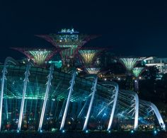 Mystical Gardens by Edward Tian on 500px Gardens by the Bay Singapore