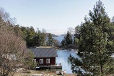 Finnish archipelago, Tammisaari. Archipelago, Villas, Finland, Cottages, Fishing, Cabin, Sea, House Styles, Life