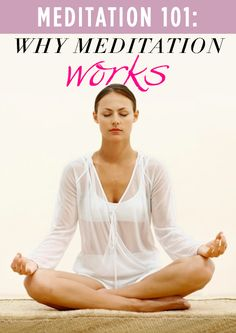 A great, quick article on the benefits of meditation. Includes a nice, instructional how-to for beginners. Give it a shot! It'll change your life!
