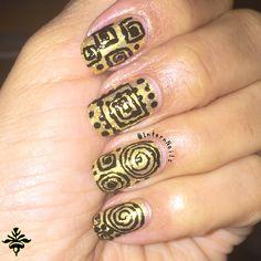 """Indie DripDrop Nail Paint  """"Gold Veined Mirrors""""  #nails #Naildesing #Nailart #mynails #Naturalnails #indiepolish  #goldnails  #Design #Style #Polish #Nailpolish #Gold #Goldpolish #golddesign"""